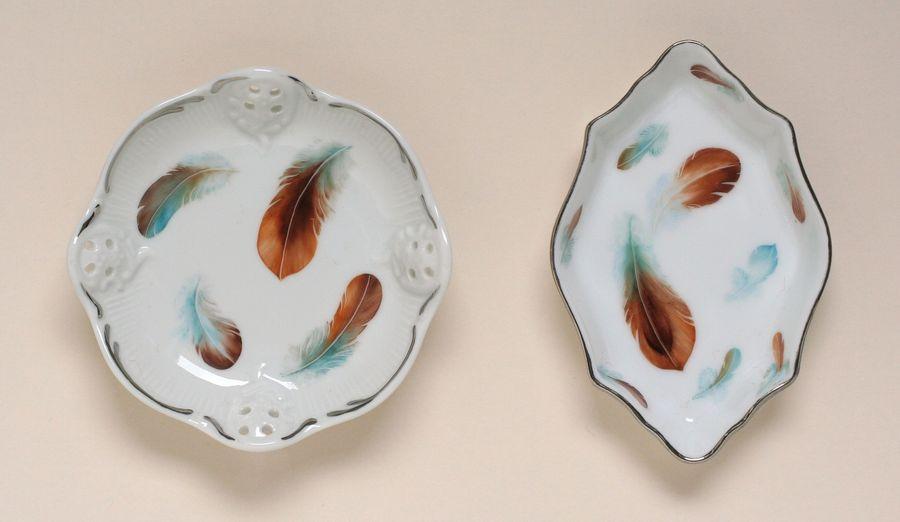 Décors modernes de peinture sur porcelaine: www.ness.ch/maf-porcelaine/peinture porcelaine decor moderne.html